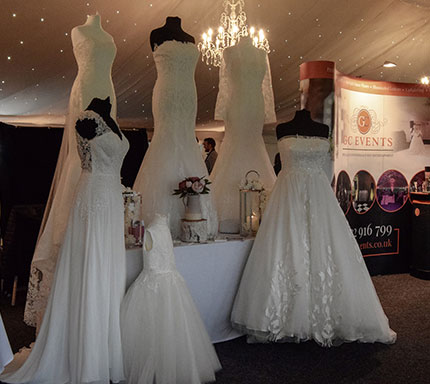 bridal dress open day