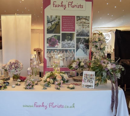 florist wedding fair