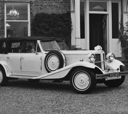 open day wedding car